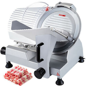 Commercial Electric Meat Slicer 10 Blade 240w Deli Food Cutter
