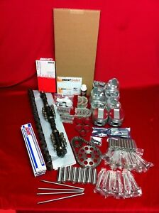 Chrysler 392 1957 58 Hemi Deluxe Engine Kit Pistons Bearings Valves Cam Gaskets