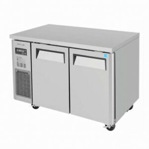 Turbo Air Jur 48 Two section Undercounter Refrigerator Stainless Steel Interior