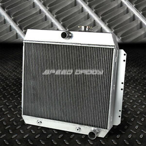 3 row Full Aluminum Racing Radiator 49 54 Chevy Styleline fleetline bel Air V8