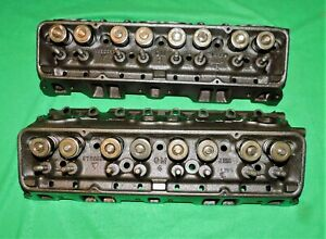59 Corvette Impala 283 2x4 3755550 X Sbc Head Rare I 23 8 Fuel Injection Nice