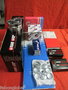 Ford 351w Master Engine Kit 1996 97 Truck Pistons Bearings Gaskets Rings No Cam