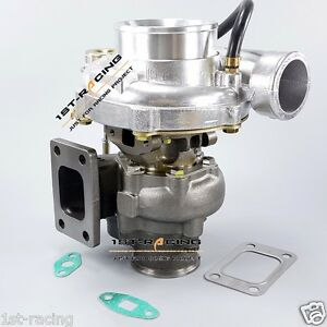 Wgt35 Gt35 Turbine A r 63 Comp Ar 70 Oil V Band Internal wastegate Turbo Charger