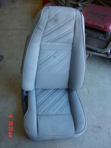 Jeep Wrangler Grey Cloth Passengers Side Front Seat 91 92 93 94 95 Yj Right