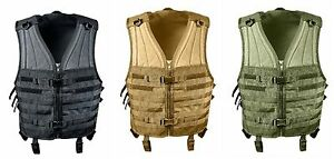 MOLLE Compatible Modular Vest Heavyweight Airsoft Tactical Vests Black OD Brown $52.99