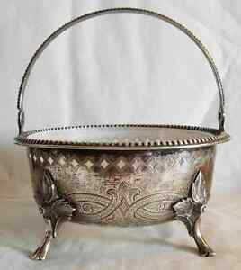 Mid 19th Cen Silver 12 Loth Center Piece By Wilkens Germany 180 Grams