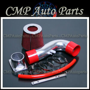 Red Fit 1992 2000 Lexus Sc400 4 0 4 0l Ram Air Intake Kit Induction Systems