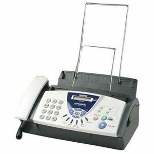 New Sealed Brother Fax 575 Plain Paper Fax Phone Copier Free Shipping Nib