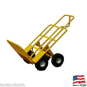 Multi Mover Heavy Duty Industrial Cart Dolly Handler Truck Closed Cell Tires