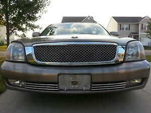 2000 2005 Cadillac Deville Chrome Mesh Grille Bentley Grill Replacemet Trim