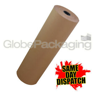 500mm X 25m Strong Kraft Brown Wrapping Paper 25 Metres