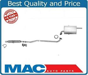 Muffler Exhaust System Chevrolet Prizm For Toyota Corolla 1 8l 98 02 1 8l Engine