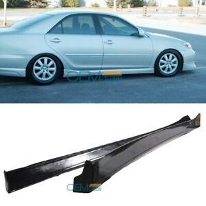 For 02 03 Toyota Camry Pu Side Skirts Vip Style Poly Urethane