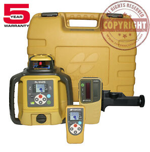 Topcon Rl sv2s Dual Slope Self leveling Rotary Grade Laser Level
