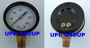 Pressure Gauge Wog Compressor Industrial Hydraulic 2 Face 0 300 Lower Mnt Mi