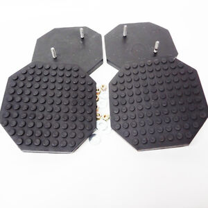 Rubber Arm Pad For Challenger Lift Vbm Lifts Set Of 4 Pads Octagon Pad Kit