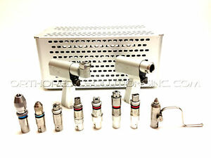 Stryker System 5 Set With 4208 4203 Handpieces Attachments with Warranty