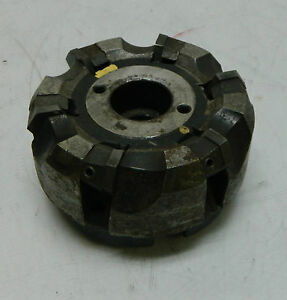 Valenite 4 Carbide Insert Face Milling Cutter 6 inserts Vmc 79 6 0406 r Used