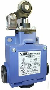 Suns Sn2162 sp a Top Roller Lever Safety Limit Switch Snap Action 1no 1nc