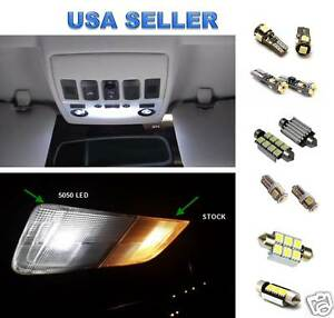 12pc Led Interior Lights Package Kit For Mercedes Benz W203 C class