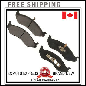 Front Ceramic Brake Pads For Jeep Grand Cherokee 93 1994 1995 1996 1997 1998