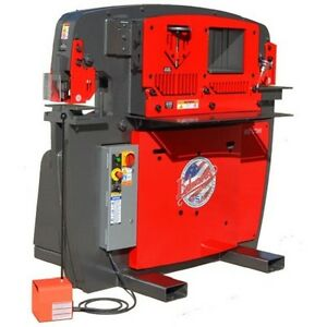 Brand New Edwards 65 Ton Iron Worker 9 Standard Round Punch Die Sets