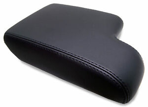 Center Console Armrest Leather Synthetic Cover For Bmw E36 92 99 Black