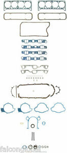 Pontiac 350 400 428 455 Fel Pro Full Gasket Set Head intake exhaust 1967 79