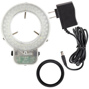 Amscope Led 64s 64 Led Microscope Ring Light With Dimmer