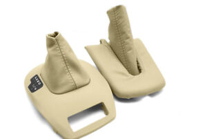 Automatic E Brake Boot Real Leather For Bmw E85 86 M3 Z4 03 08 Beige