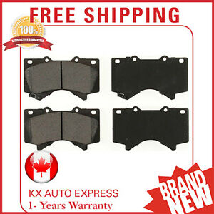 Front Ceramic Brake Pads For Toyota Tundra 2007 2008 2009 2010 2011 2012