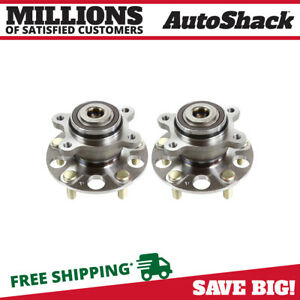 2 New Rear Wheel Hub Bearing Assembly Pair Set For 2006 2009 Honda Civic