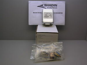 Shadin Avionics 930510 Rs 232 To Rs 422 Rs 422 To Rs 232 Converter Full Kit