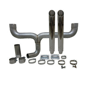 Grand Rock Stack Kit Dual 4 Inlet 6 Stack Angle Cut