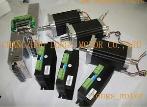 Special Offer 3axis Nema34 Stepper Motor Dual Shaft 1600oz 3 5a