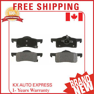 Rear Ceramic Brake Pads For Ford Expedition 2003 2004 2005 2006 D935