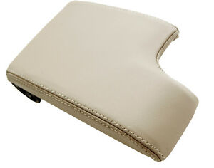 Center Console Armrest Leather Synthetic Cover For Bmw E46 99 04 Beige
