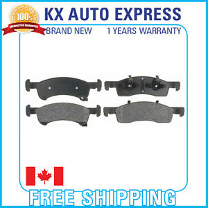 Front Ceramic Brake Pads For Ford Expedition 2003 2004 2005 2006 D934