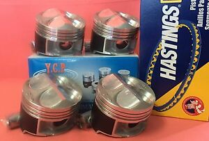 Ycp B16 B18 81mm Jdm High Compression Pistons Rings Acura Honda Civic Type R