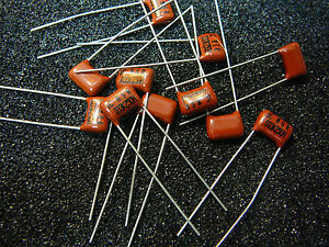 Illinois Capacitor Metallized Polyester Film 0 033uf 250v 10 new Qty 10