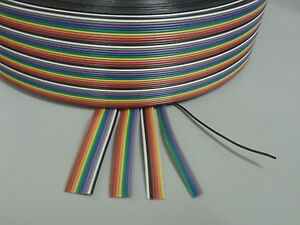 Ribbon Cable 1a 3d Printer Stepper Motors End Stop Switch Wire 28awg