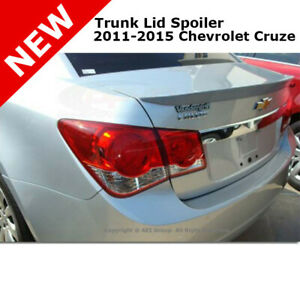 11 Chevy Cruze Ducktail Flush Trunk Tail Rear Spoiler Wing Primer Unpainted