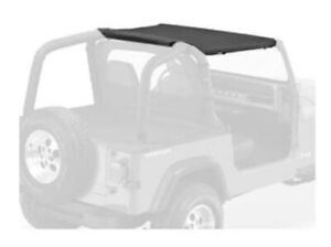 Bestop Black Denim Strapless Bikini Top For Jeep Wrangler Yj 1992 1995 52519 15