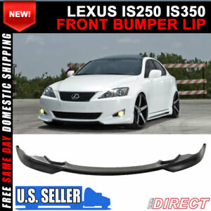 For 06 08 Lexus Is250 Is350 Front Bumper Lip Bodykit Pu Poly Urethane