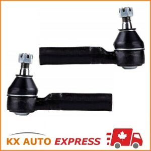 2x Front Outer Tie Rod End Kit For Gmc Sierra 1500 4x4 4wd 1999 2000 2001 2002