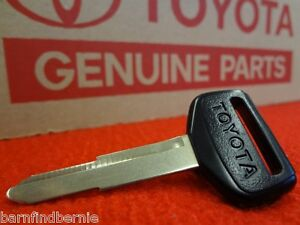 Toyota Master Key Blank 4runner Hilux Pickup Land Cruiser Oem Genuine Usa Seller