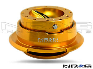 Nrg Steering Wheel Quick Release Kit Rose Gold With Diamond Cut Ring Gen 2 8