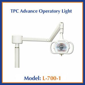 New Tpc Dental L700 Lucent Post Mount Halogen Operatory Exam Light
