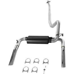 Flowmaster 86 91 Camaro Firebird 5 0l 5 7l V8 3 Cat back Exhaust System 17234