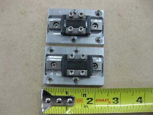 Lot Thk Linear Guide Lm Rail 2 Rsr9zm Carriage Bearing Blocks 2 5 65mm Fixture